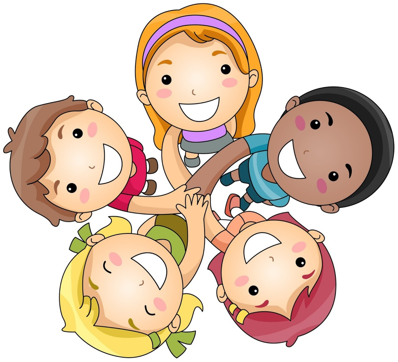 friendship-clipart-happy-friends-playing-clipart-1