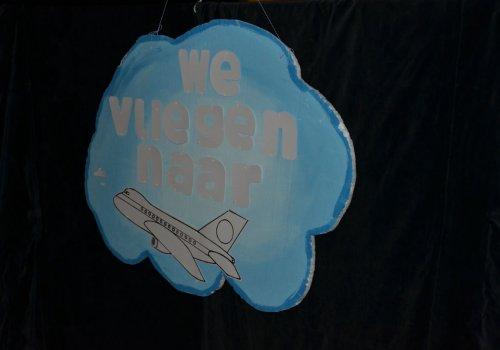 Familiefeest: 'We vliegen naar…
