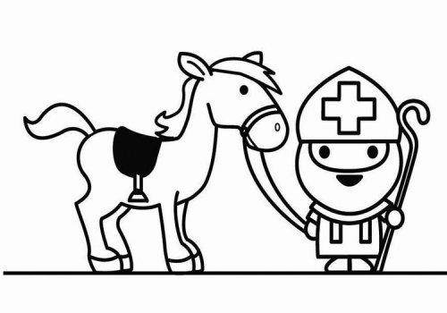 P/K1: Op het paard…